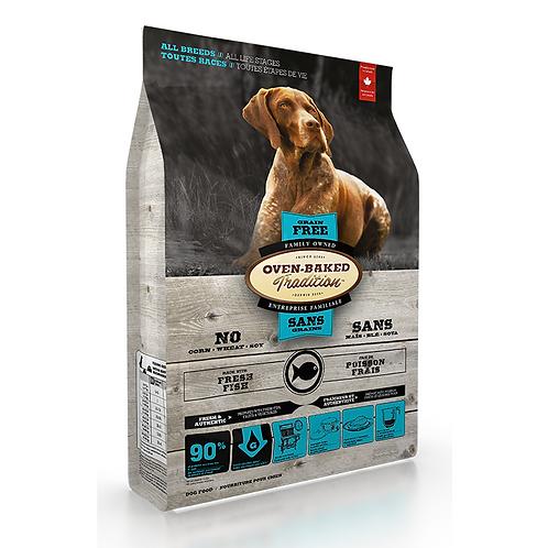 Oven-Baked 標準粒成犬無穀物5種魚配方 (5LBS/25LBS)