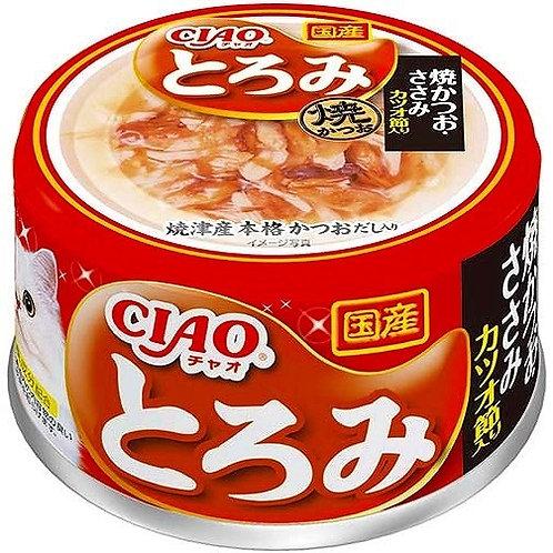 CIAO 貓罐頭 - 雞肉鰹肉80g