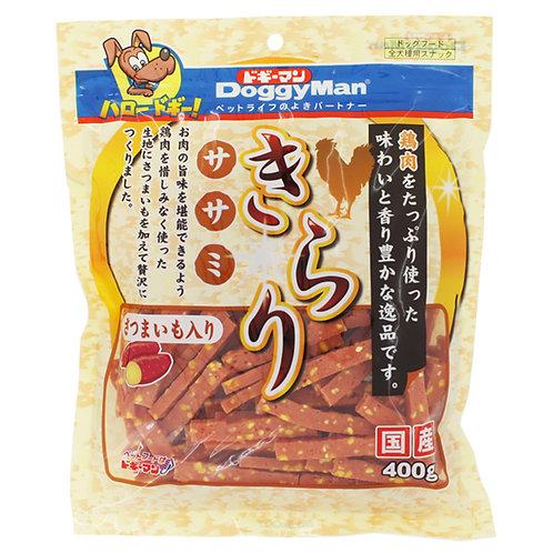 DoggyMan 甜薯雞肉片 400g