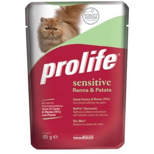 Prolife成貓濕糧-低敏薯仔鹿肉 85g