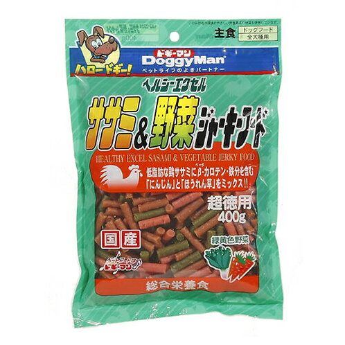 DoggyMan 雞肉野菜條 400g