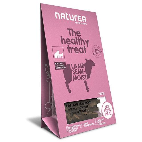 Naturea 鮮肉半濕小食 (貓用) –羊肉 100g