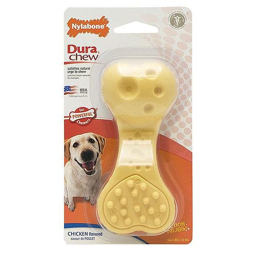 Dura Chew Plus Textured Wavy Bone