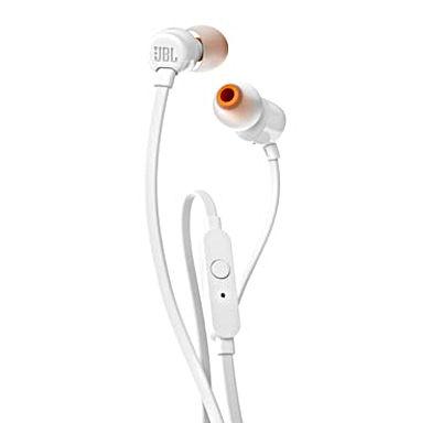 Écouteurs JBL T110 Blancs