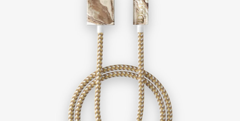 Golden Sand Marble Fashion Cable
