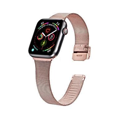 Glossy Pink Apple Watch Band