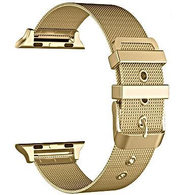 Gold Mesh Apple Watch Band