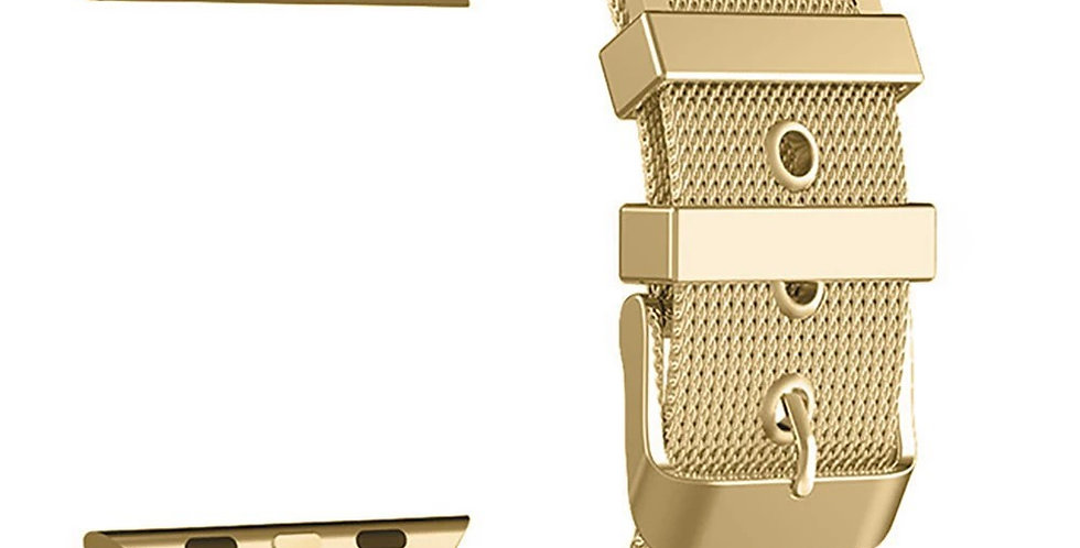 Gold Mesh Apple Watch Band