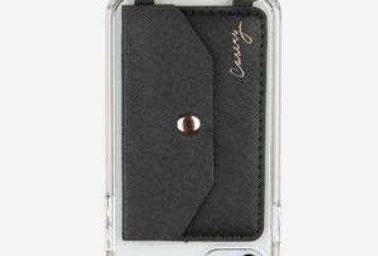 Black Crossbody Phone Pocket