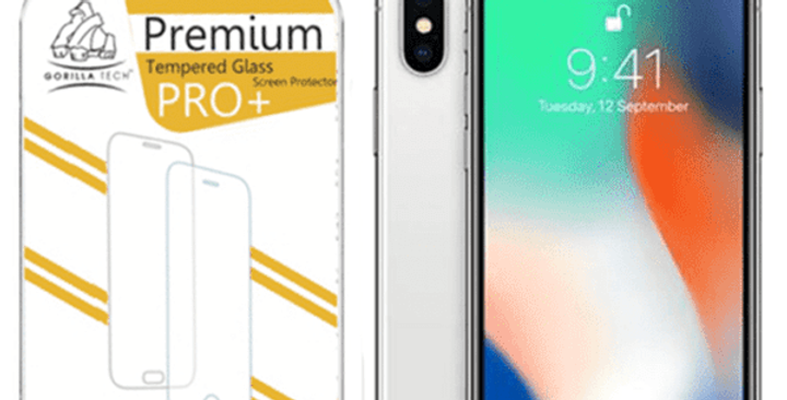 Film verre trempé premium iPhone
