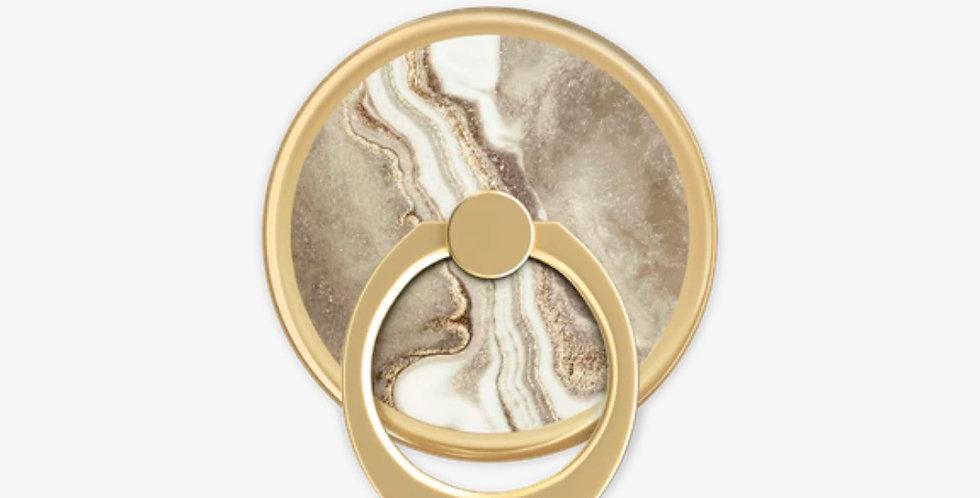 Golden Sand Marble Ring Mount