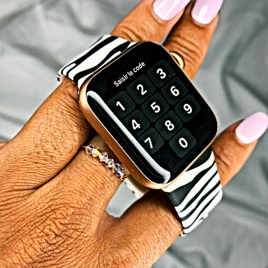Zébra Apple Watch Band