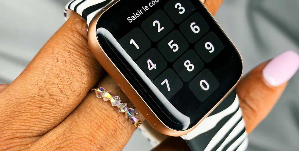 Zébra Apple Watch Band