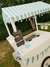 Vintage Eiswagen