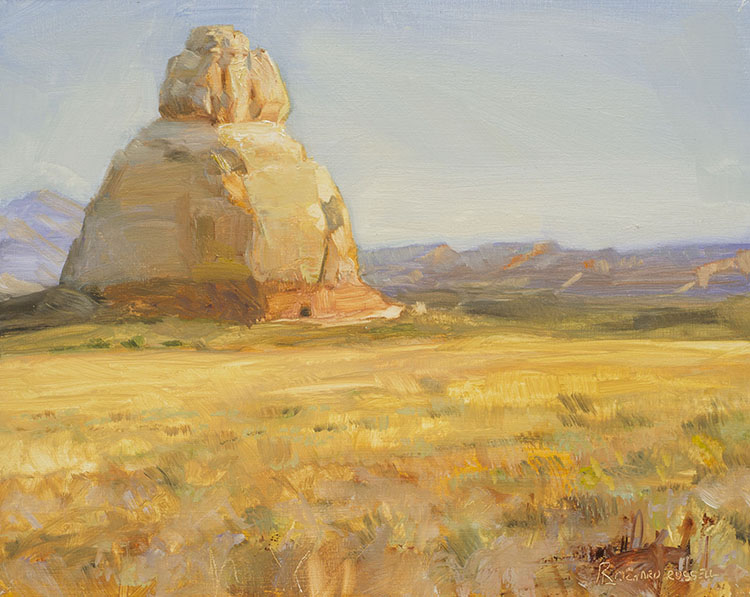 Church rock by Richard Lance Russell