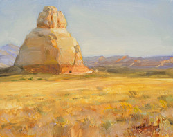Church rock by Richard Lance Russell