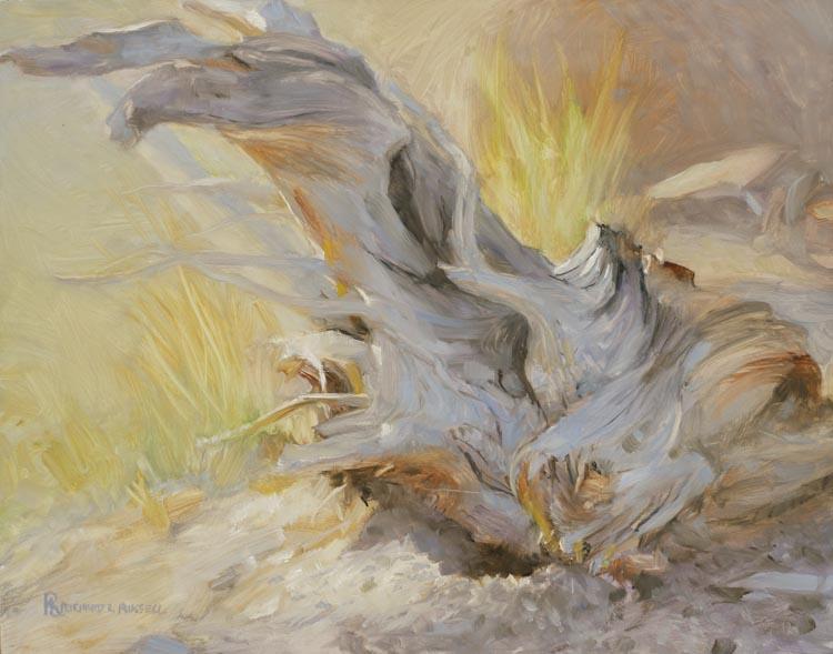 Desert Still Life Painting by Richard Lance Russell