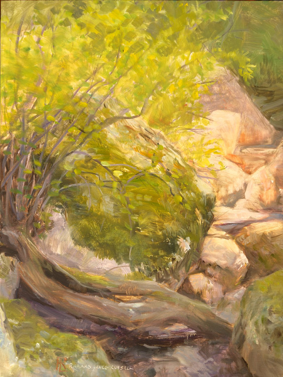 Boulder at Rest by Richard Lance Russel web