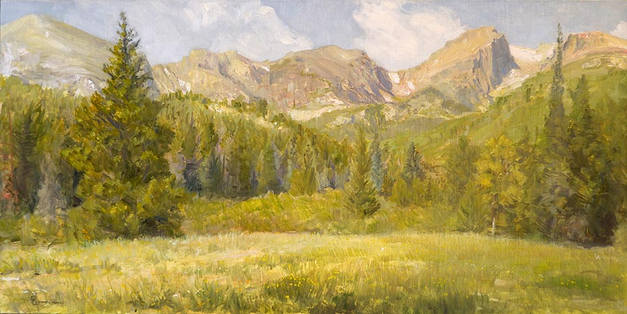 First Light on the Front Range by Richard Lance Russell web