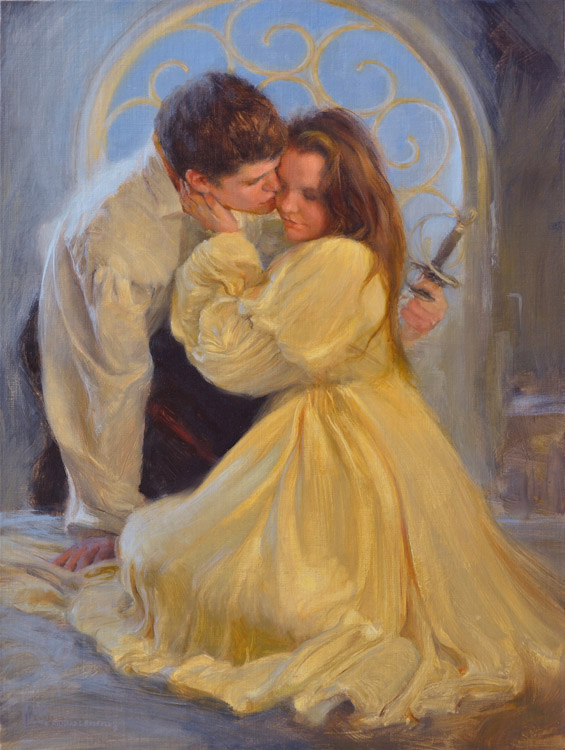 Romeo and Juliet Painting by Richard Lance Russell