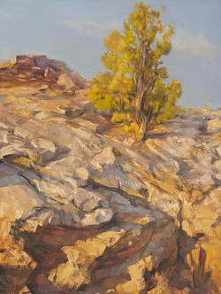 Canyon Watchman Painting by Richard Lance Russell