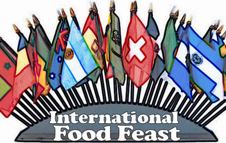 November 25th is our International community Feast!