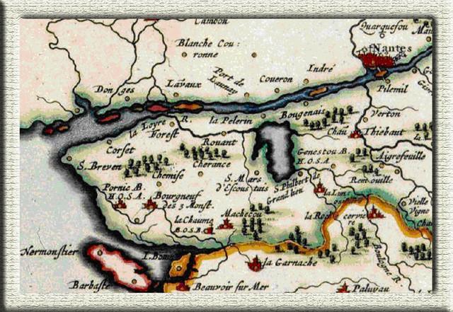 old map, barony of Retz