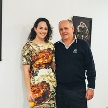 Steph and her father, Michael