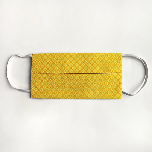 Yellow Diamond Mask
