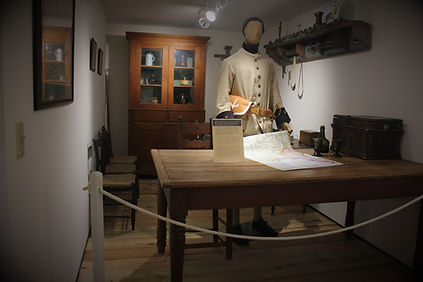 Ste Genevieve French colonial museum in