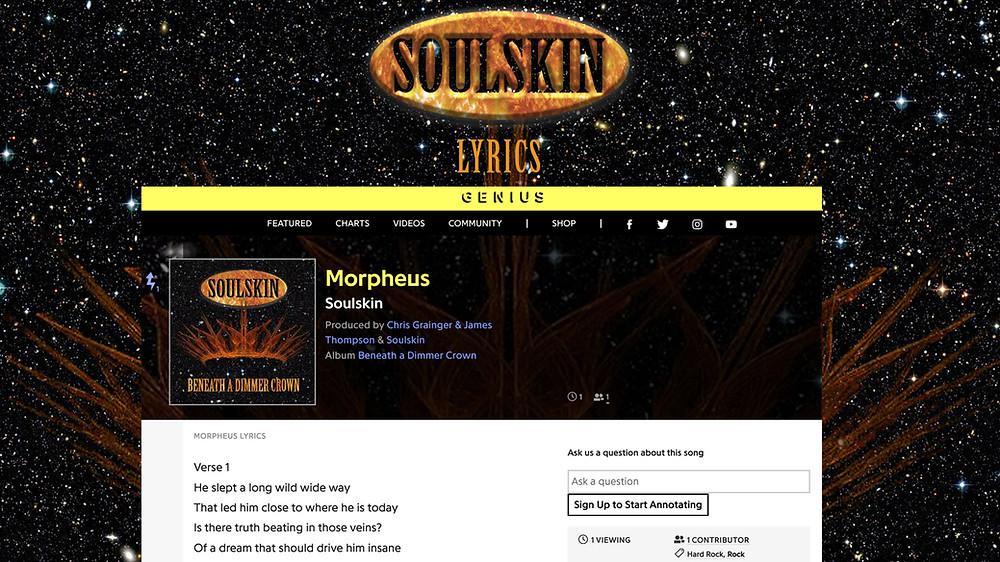 Soulskin Lyrics