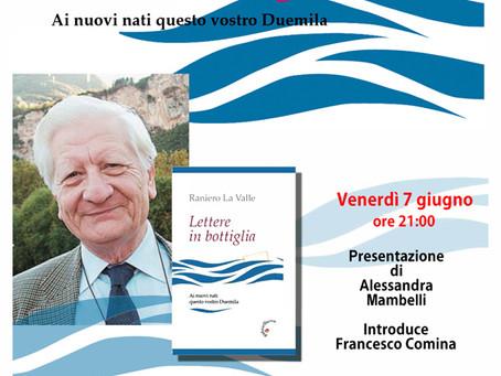 Raniero La Valle il 7 giugno a Ferrara