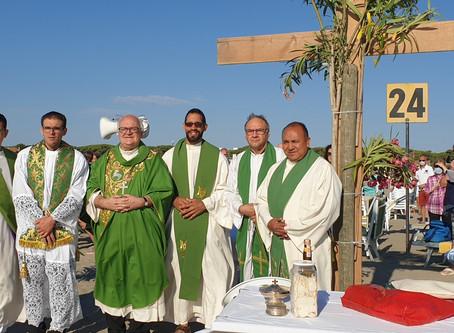 Messa in spiaggia: il Vescovo a Lido degli Estensi
