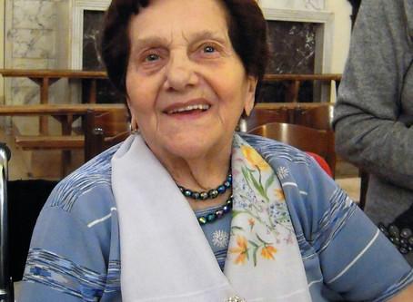 È deceduta la madre di p. Raffaele Talmelli