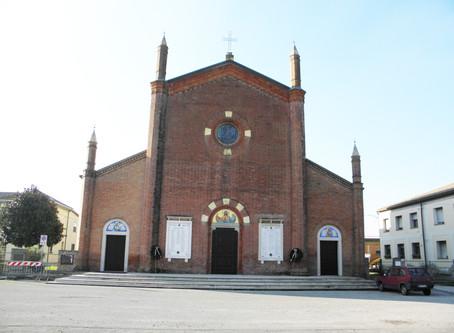 26 aprile, Messa del Vescovo da Jolanda di Savoia in ricordo di don Rizzo, ucciso dai fascisti