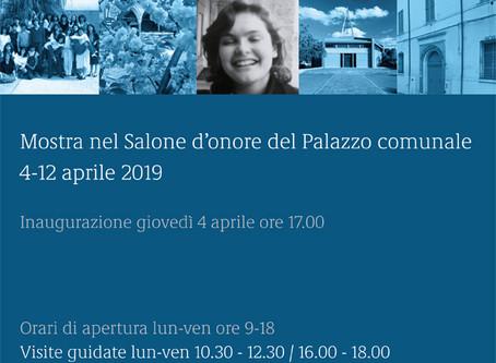 Dal 4 aprile la mostra su Laura Vincenzi in Municipio a Ferrara