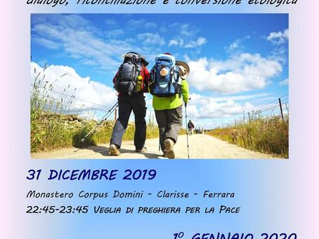 Giornata della Pace (1° gennaio) a Ferrara