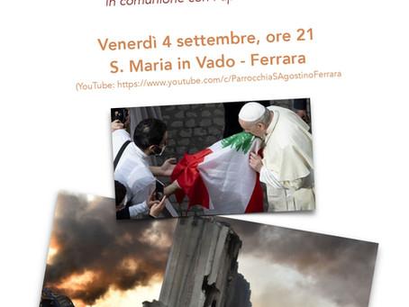 Preghiera per il Libano il 4 settembre
