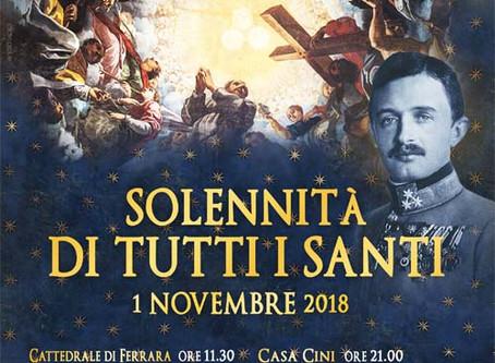 Il 1° novembre col Beato Carlo d'Austria