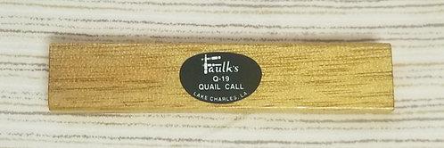 Western Quail Call