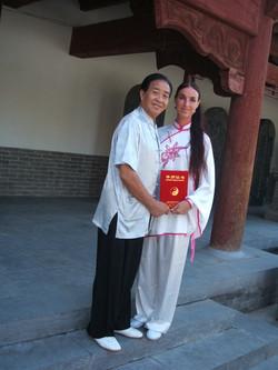 učitelský certifikát Čína