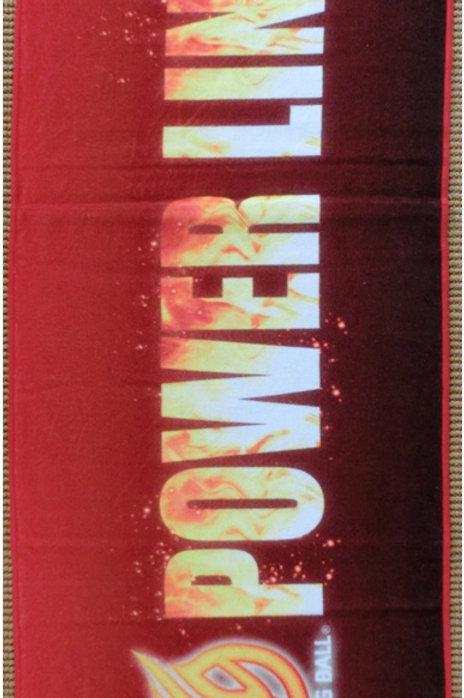 POWER LINEタオル(赤)