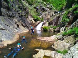 floting canyoning