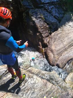 vasque canyoning