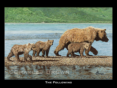 """The Following"" - 16"" x 20"" Single Matte Giclee Print"