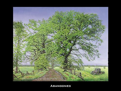 """""""Abandoned"""" -  30x40 Acyrlic"""