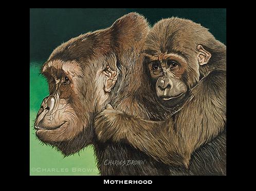 """""""Motherhood"""" - 12"""" x 14"""" Original Acrylic"""