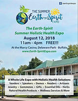 Earth-Spirit Summer Holistic Health Expo Event Poster