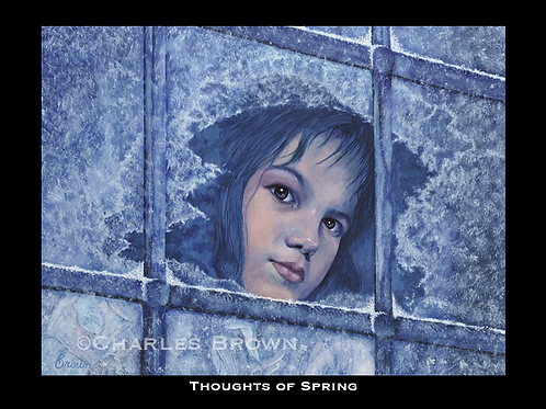 """Thoughts of Spring"" - 16"" x 20"" Original Matte Glicee Print"