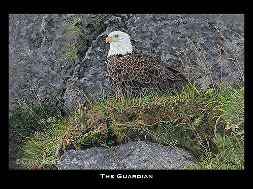 """The Guardian"" 16"" x 20"" Single Matte Giclee Print"